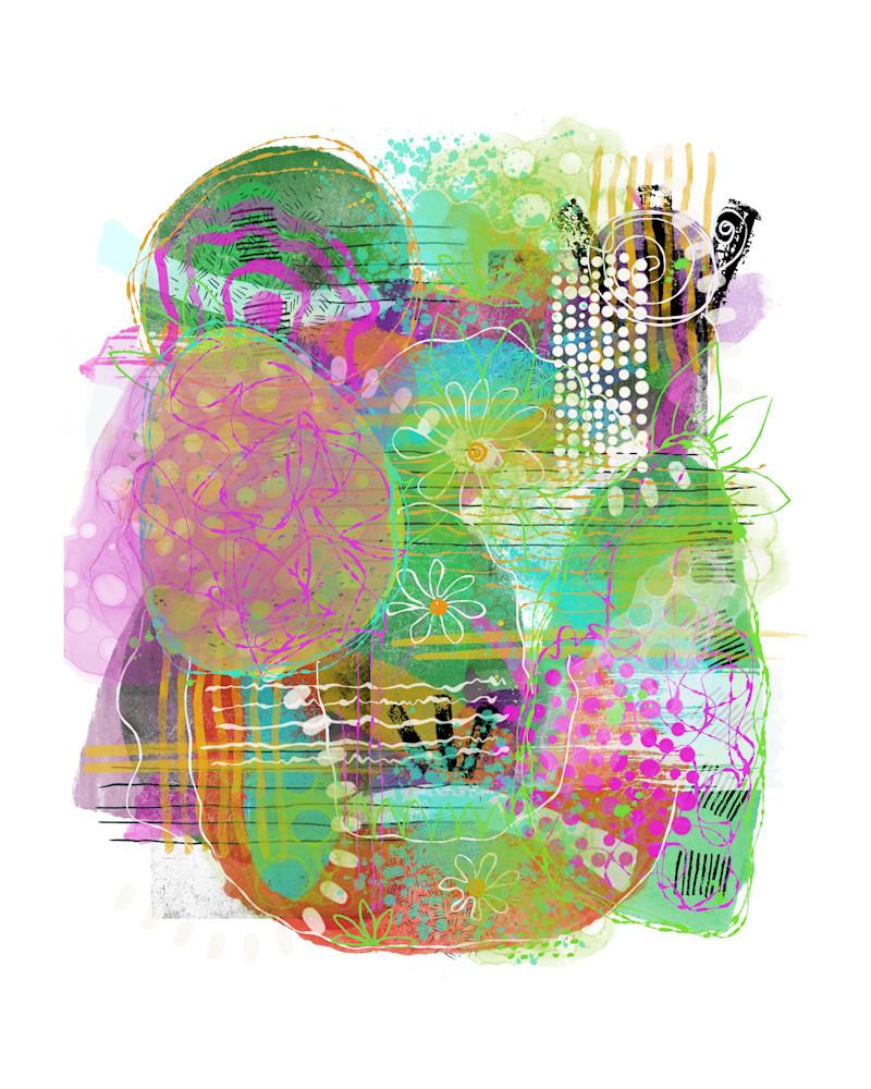 Spring Abstract 2 Art | Lynne Medsker Art & Photography, LLC