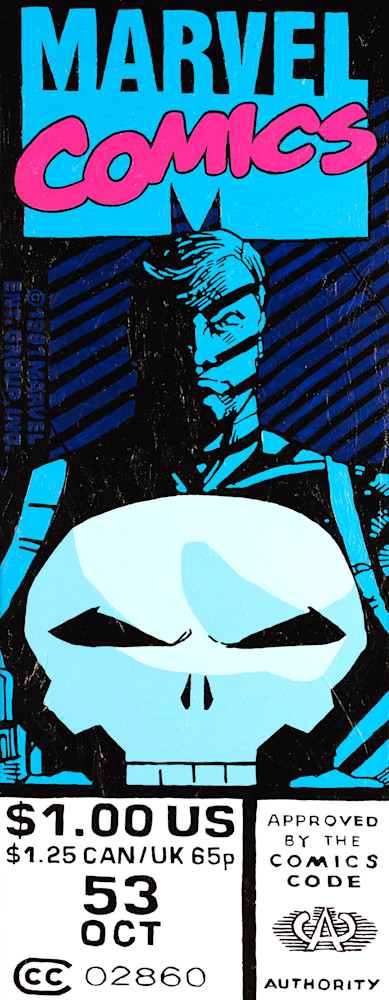 Punisher #53 Print Art | Todd Monk Art
