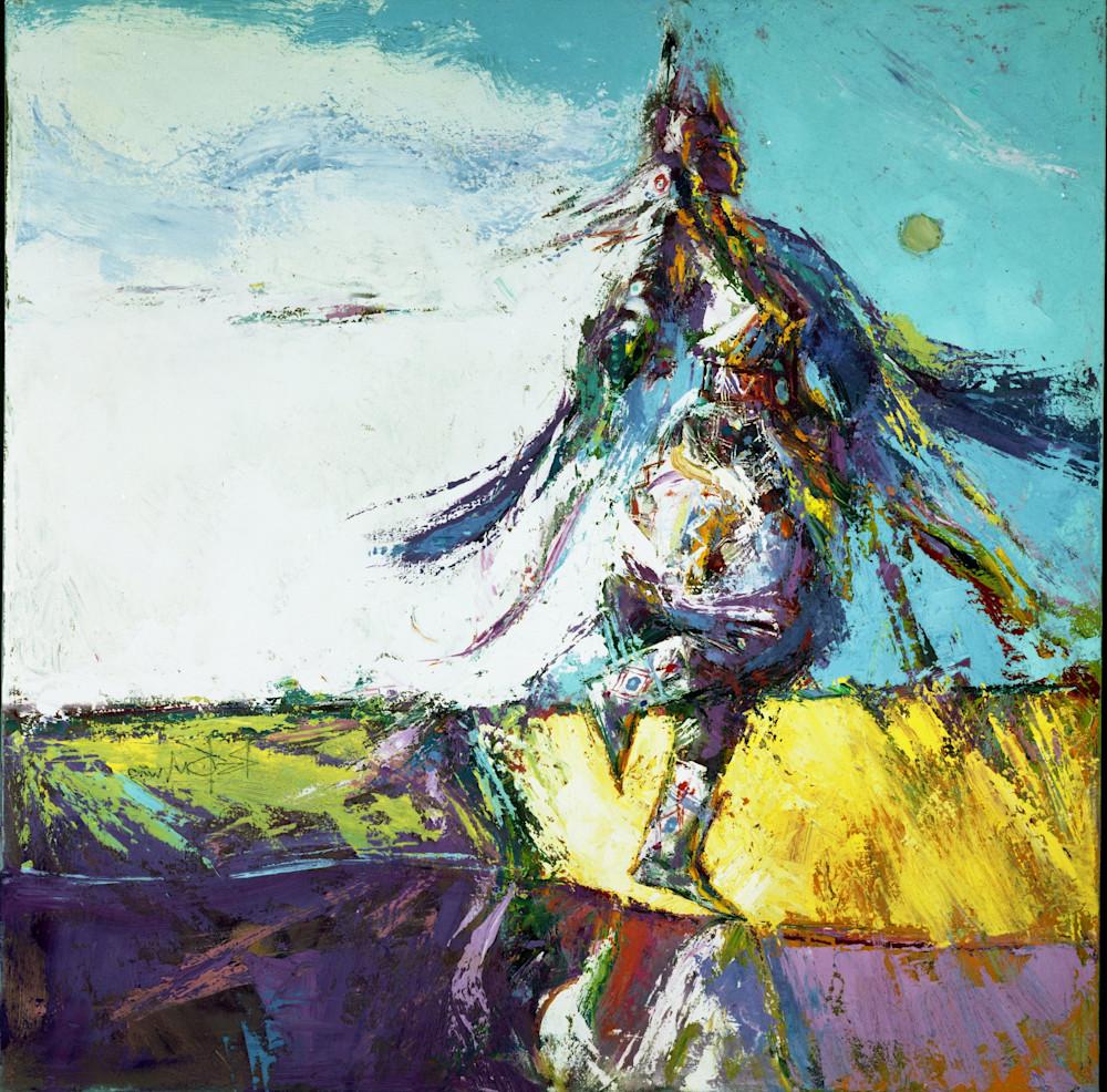Proud Shawl Dancer Art   robertorduno