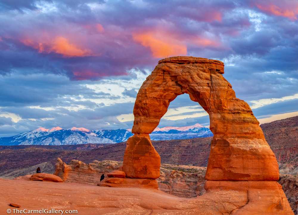 Delicate Arch & Alpenglow Art | The Carmel Gallery