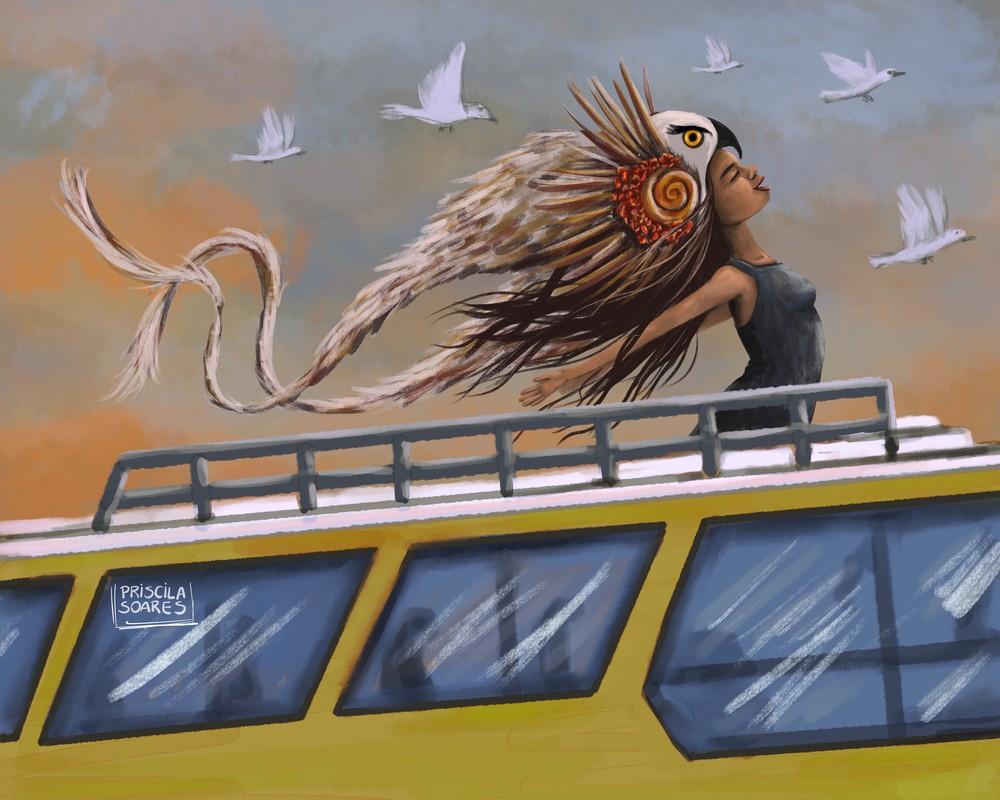Desert Queen Art   Priscila Soares - MyLuckyEars