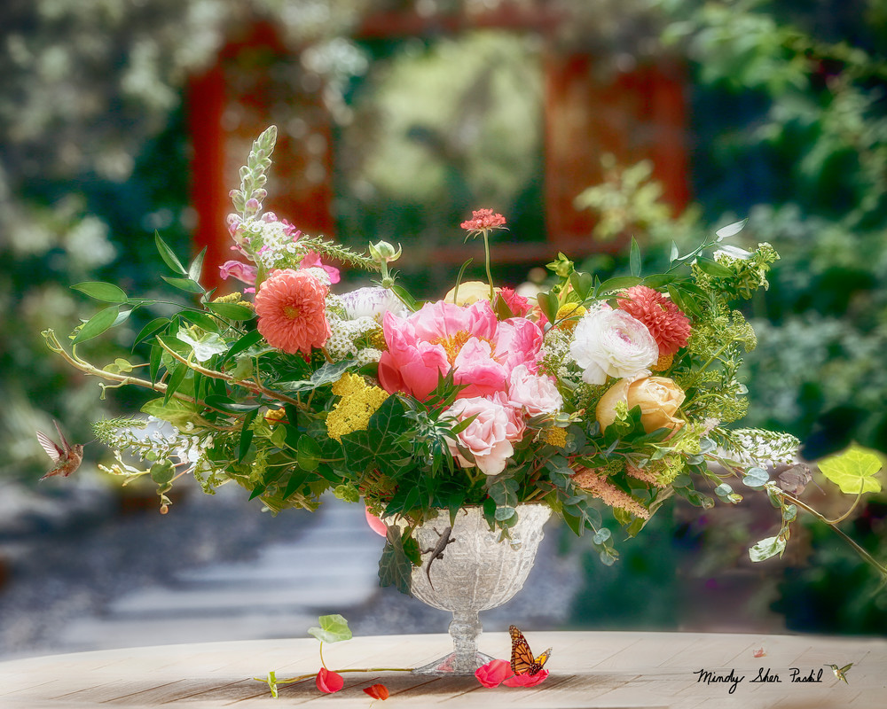 Flowers In The Garden Photography Art | Mindy Fine Art Photography