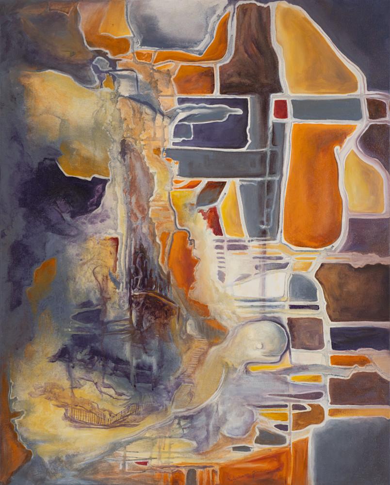 Balance   #40 Of 100   The Journey Of 100 Paintings Series Art   Valerieann Giovanni - Fine Art