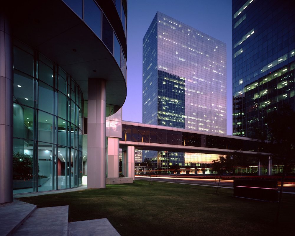 Greenway Plaza, Phase Ii, Houston, Texas Photography Art | Rick Gardner Photography