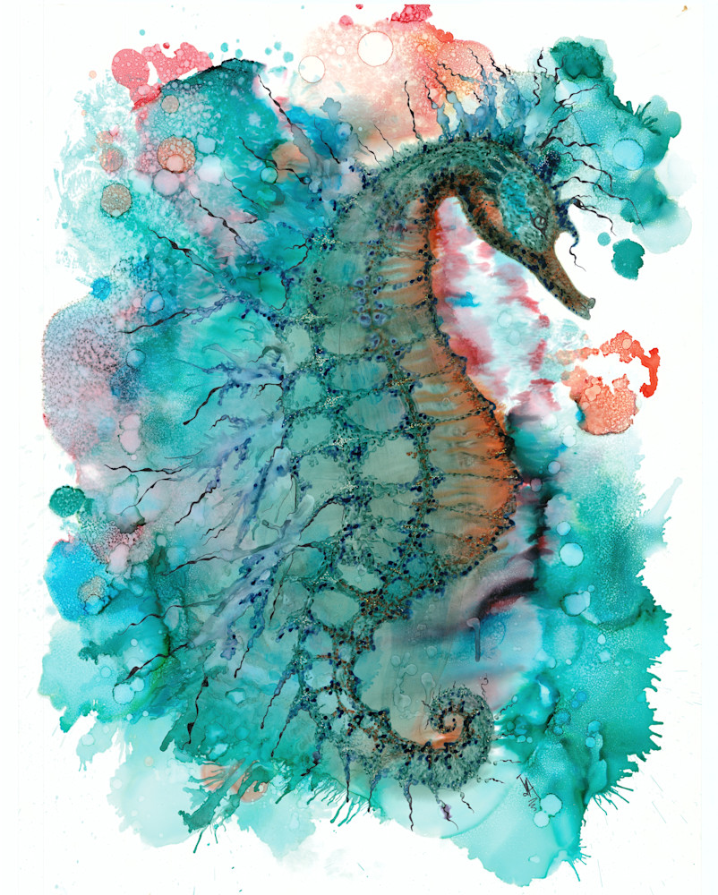 Cavalluccio Marina Hd Art | Art With Judy Ann