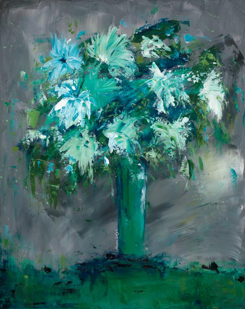 Blue Jazz Art   Peggy Leigh Art