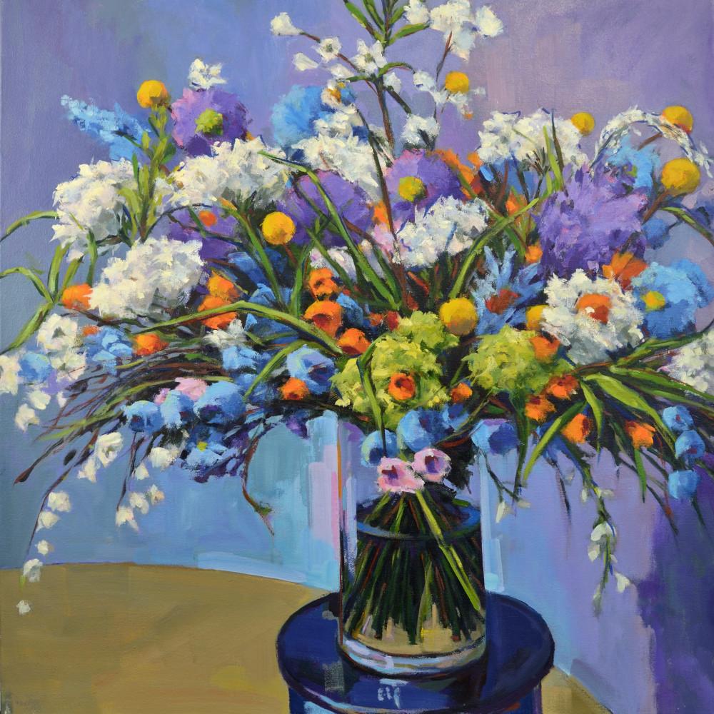 Bouquet Xviii Print Art | Jenn Hallgren Artist