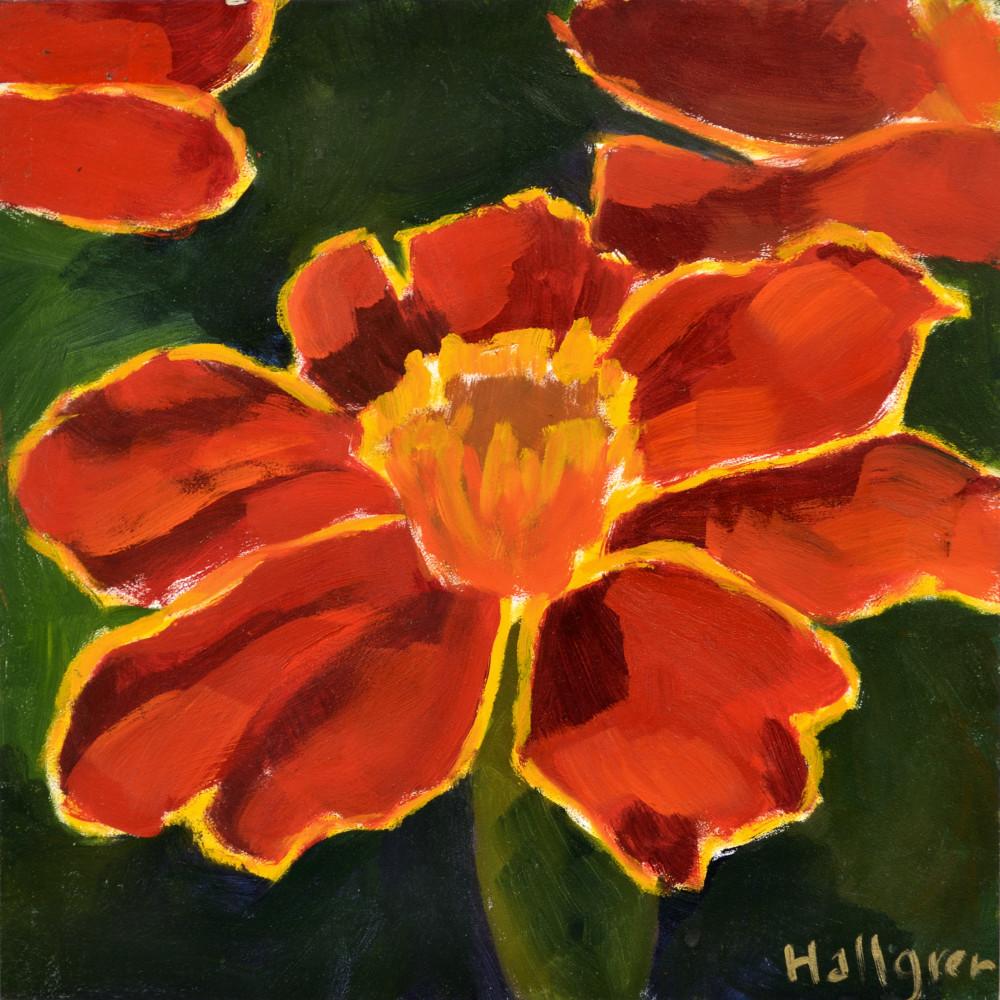 Marigold Print Art | Jenn Hallgren Artist