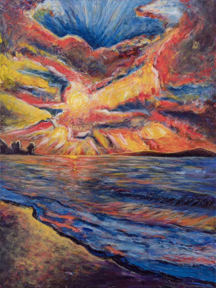 """Sunsetting 2020"" Art | Daniel Kanow Fine Art"