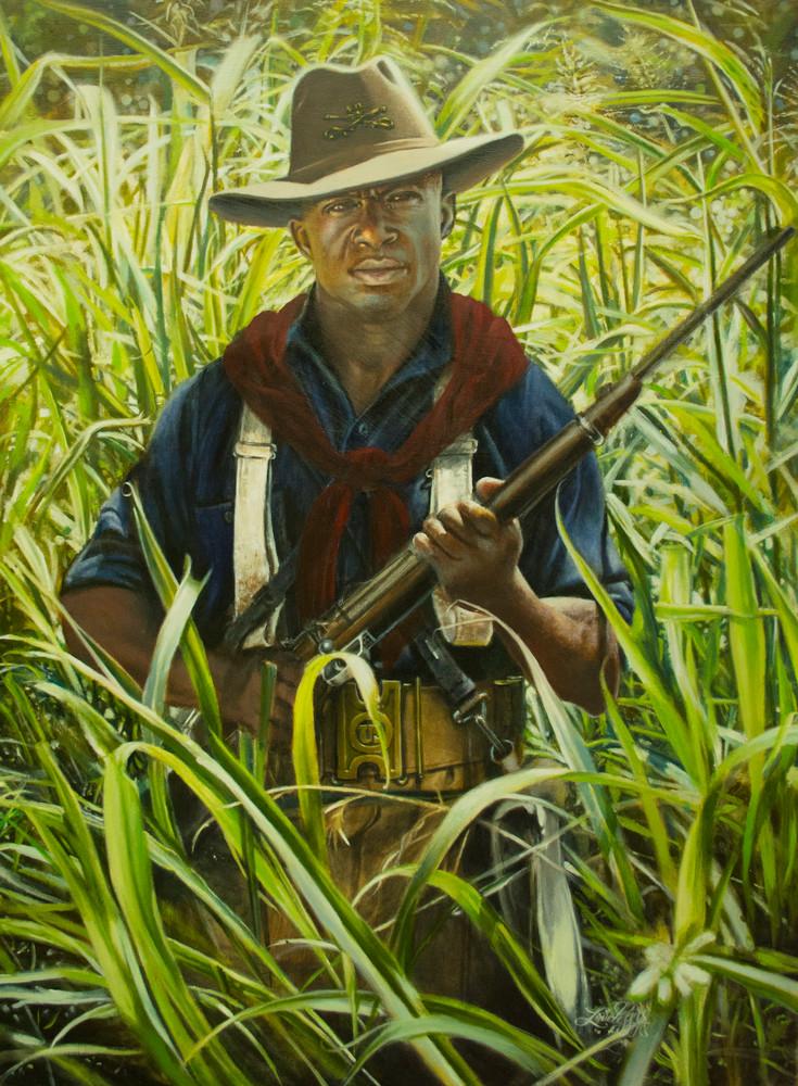 With Roosevelt In Cuba 1898 Art | James Loveless Art
