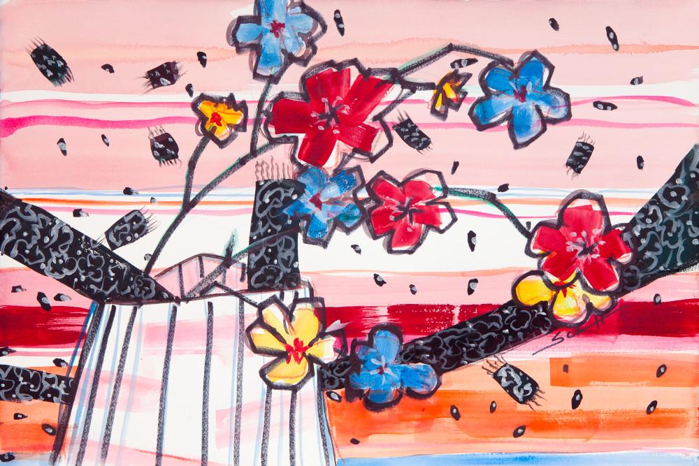 Magic Carpet Ride Art   Elaine Schaefer Hudson Art