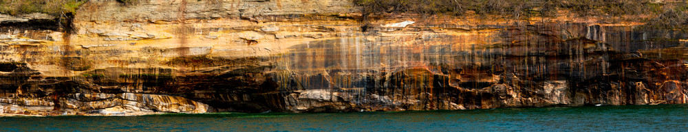 Rocky Canvas Pictured Rocks