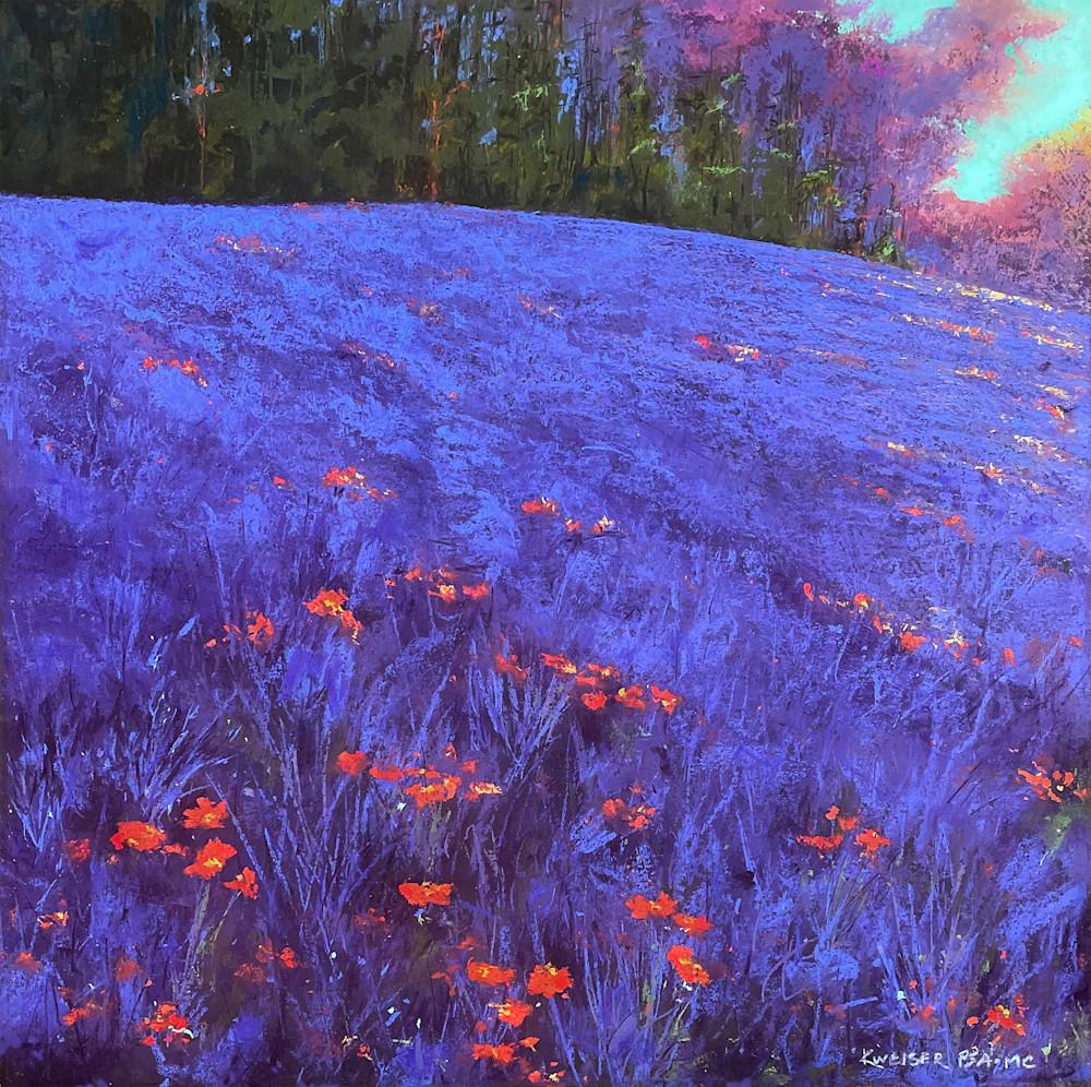 Wild Lavender Art | Kurt A. Weiser Fine Art