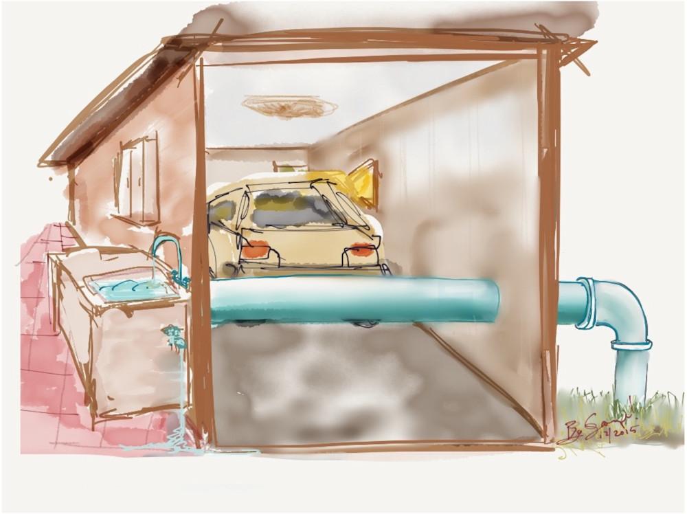 Garage Kipp Art   ART By George!
