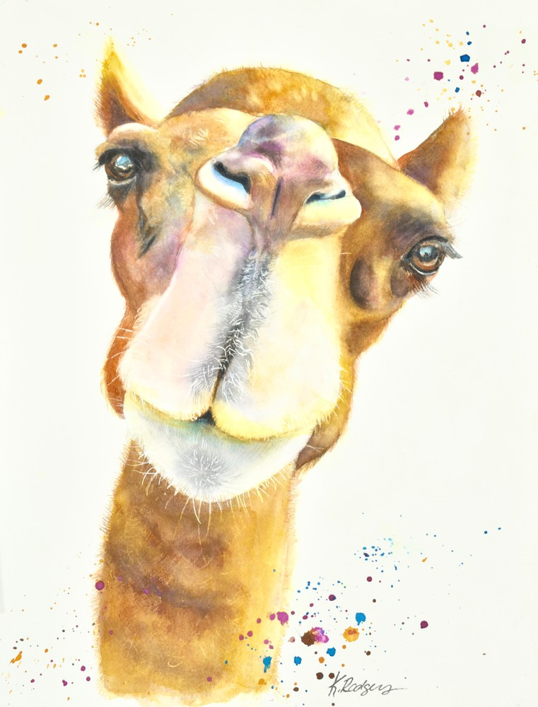 The King's Camel Art | Katherine Rodgers Fine Art