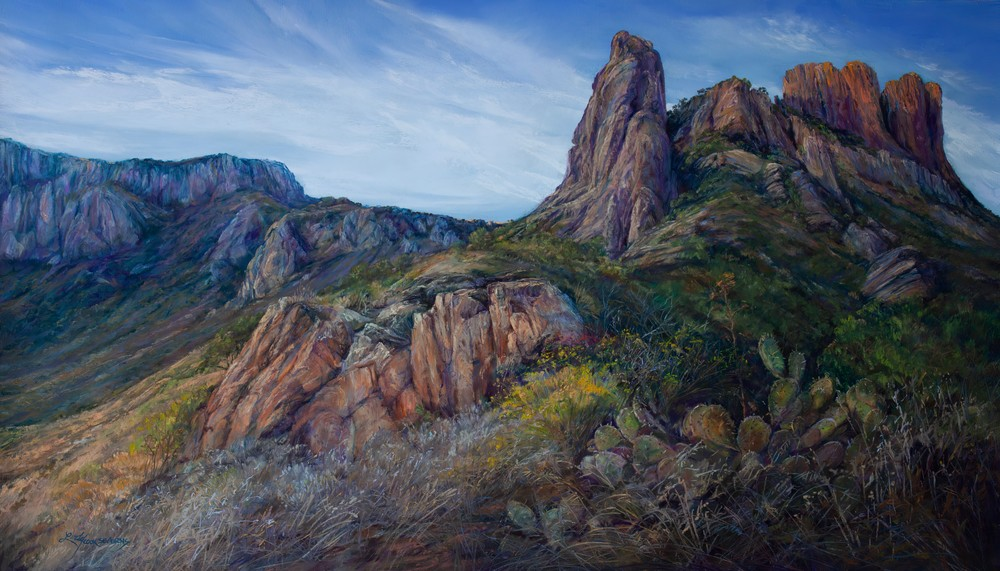 Lindy Cook Severns Art | High and Mighty Texas, print