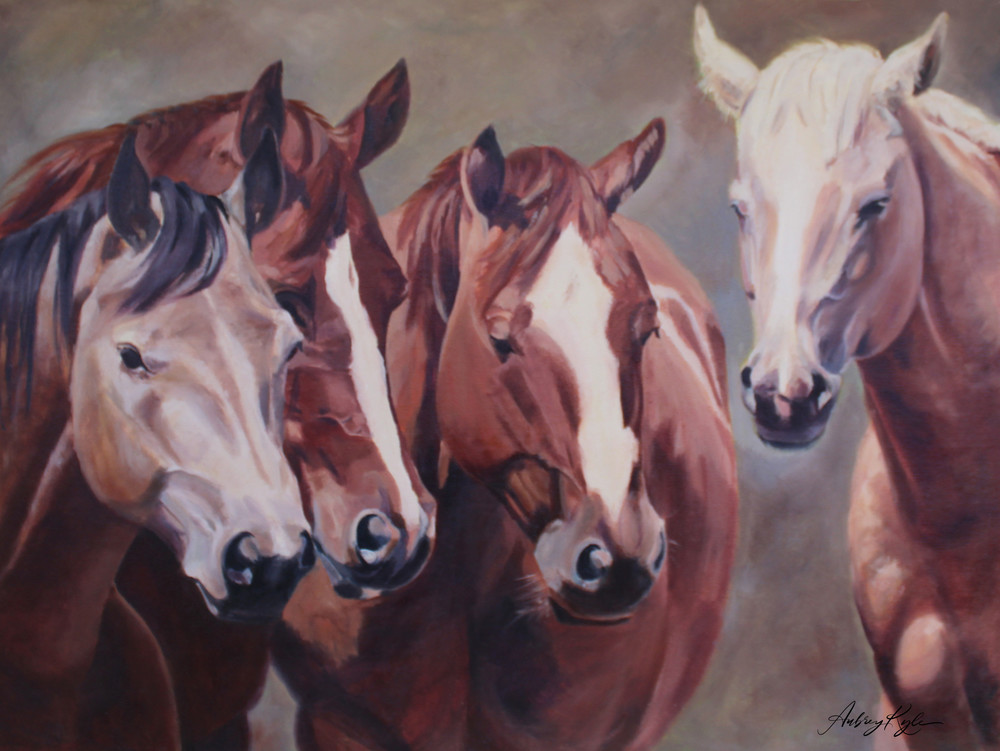 Standing By Art | Aubrey Kyle Creates