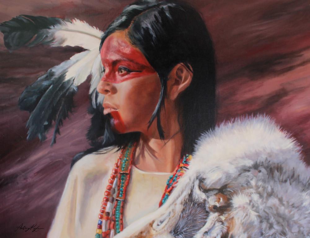 Warrior Woman  Art   Aubrey Kyle Creates