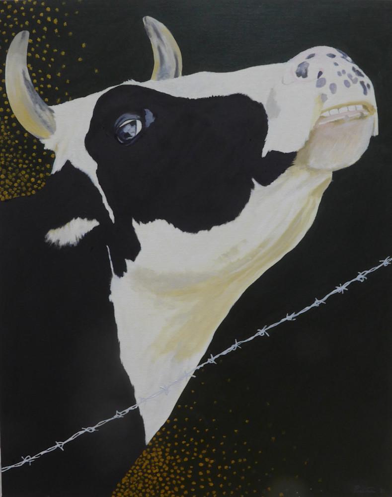 La Jolie Vache Iv Art   David R. Prentice