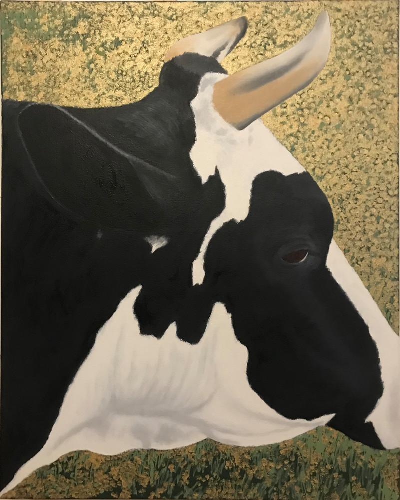 La Jolie Vache Ii Art   David R. Prentice