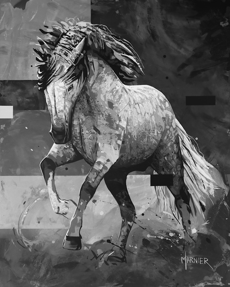 Horse, Marnier HD Quality print, Art, Painting