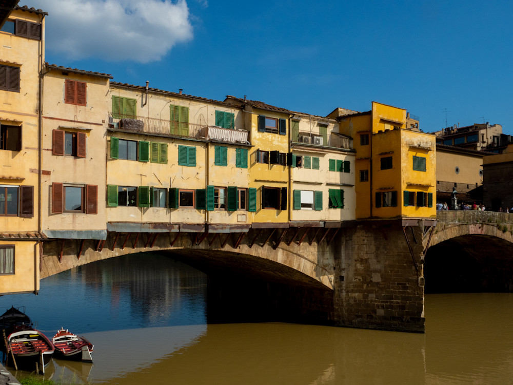 Ponte Vecchio, Florence Photography Art   Ben Asen Photography