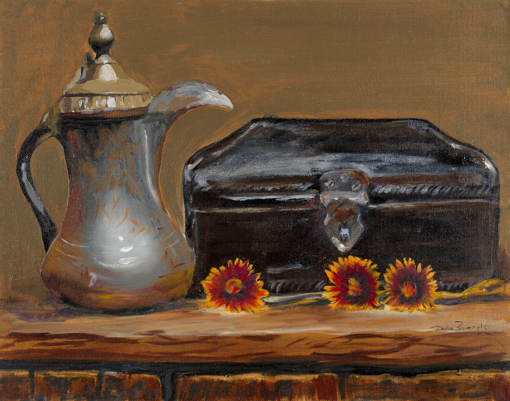 Treasures From The Attic  Art   Debra Bruner Studio