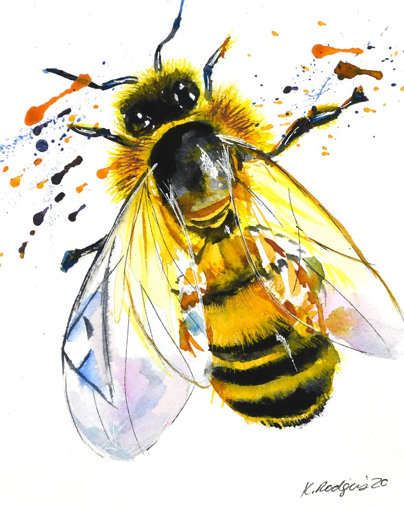 The Buzz Art | Katherine Rodgers Fine Art