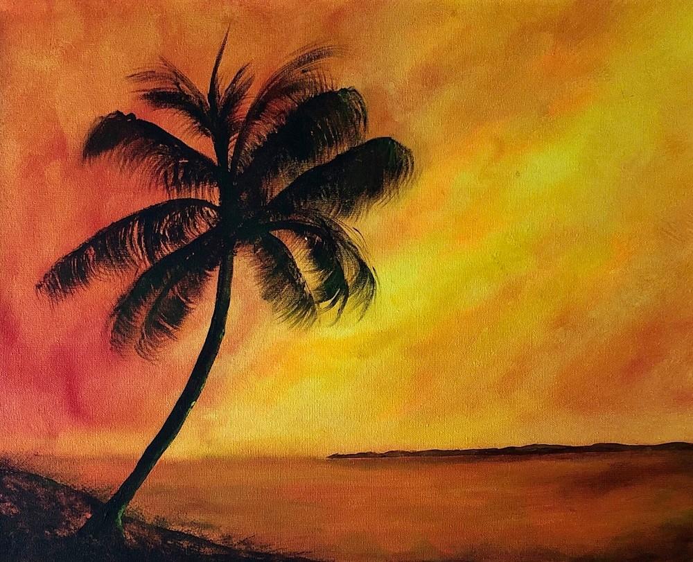 Sunset In Paradise Art | House of Fey Art