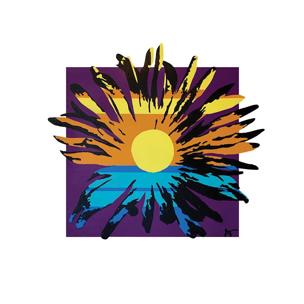 Sunny Daisy #3, Print Art | Jon Savage Contemporary Art