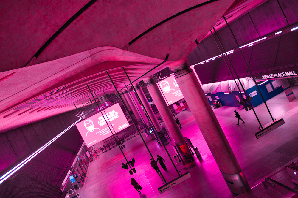 Canary Wharf Gets The Creeps Art | Martin Geddes Photography