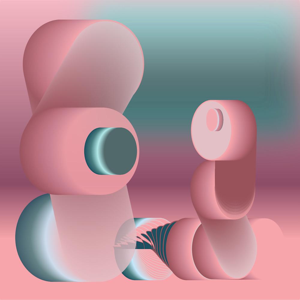 Caroline Geys   Wrapped up in Nostalgic Beings   1980's   Design   Digital art