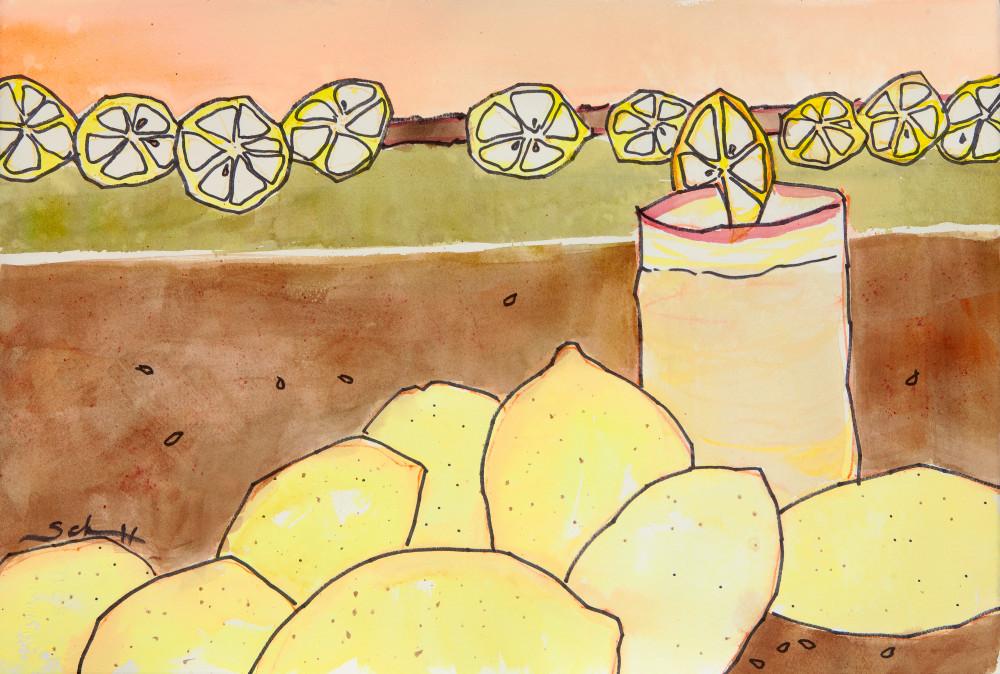 Lemonade Art | Elaine Schaefer Hudson Art