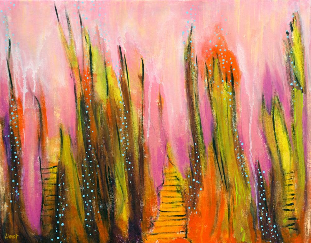 Pink Ocean Print Art | Limor Dekel Fine Art