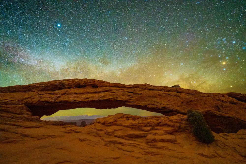 Stardust Arch Photography Art | Call of the Mountains Photography