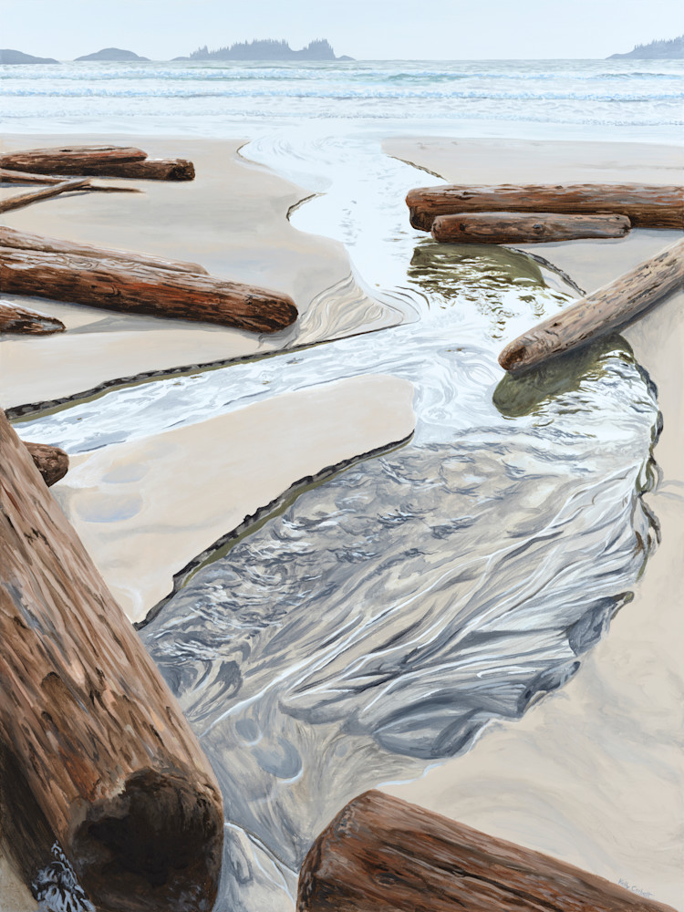 Open edition print of Divergent, inspired by Florencia Bay in Ucluelet