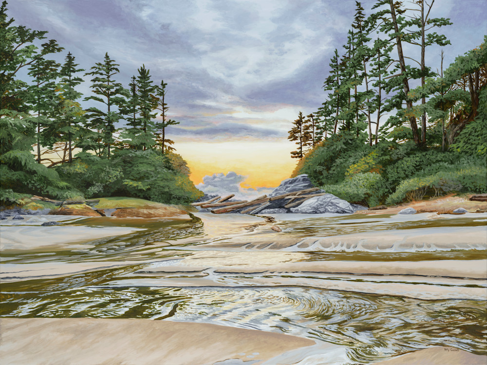 Refuge, open edition print inspired by Cox Bay in Tofino
