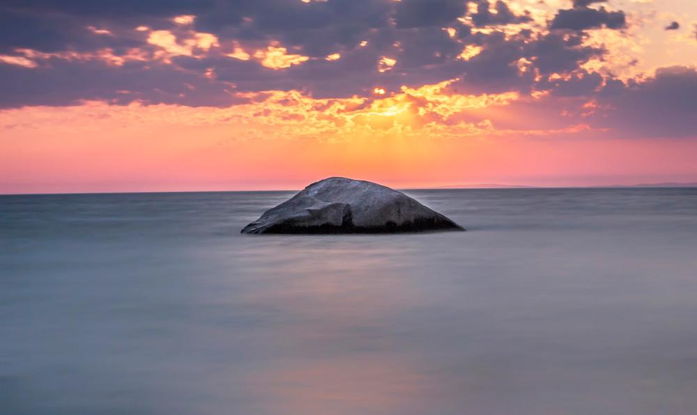 Great Rock Bight Long Exposure Art   Michael Blanchard Inspirational Photography - Crossroads Gallery