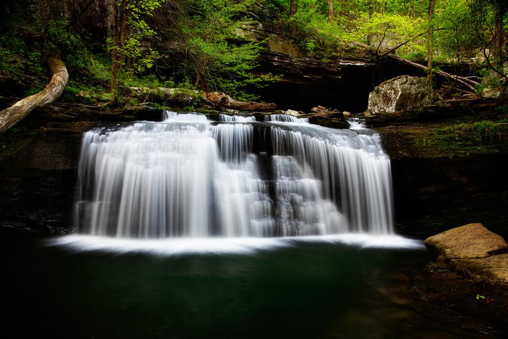 Daniel Creek Cascade - Georgia waterfalls fine-art photography prints