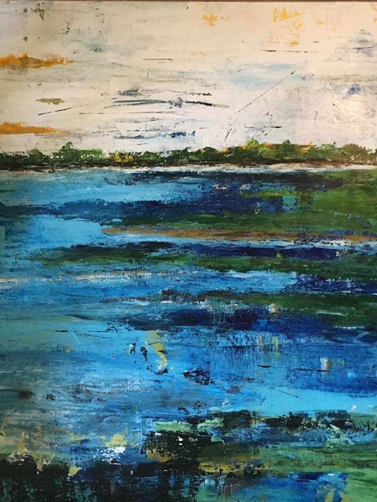 Pure Cobalt Art   B Mann Myers Art