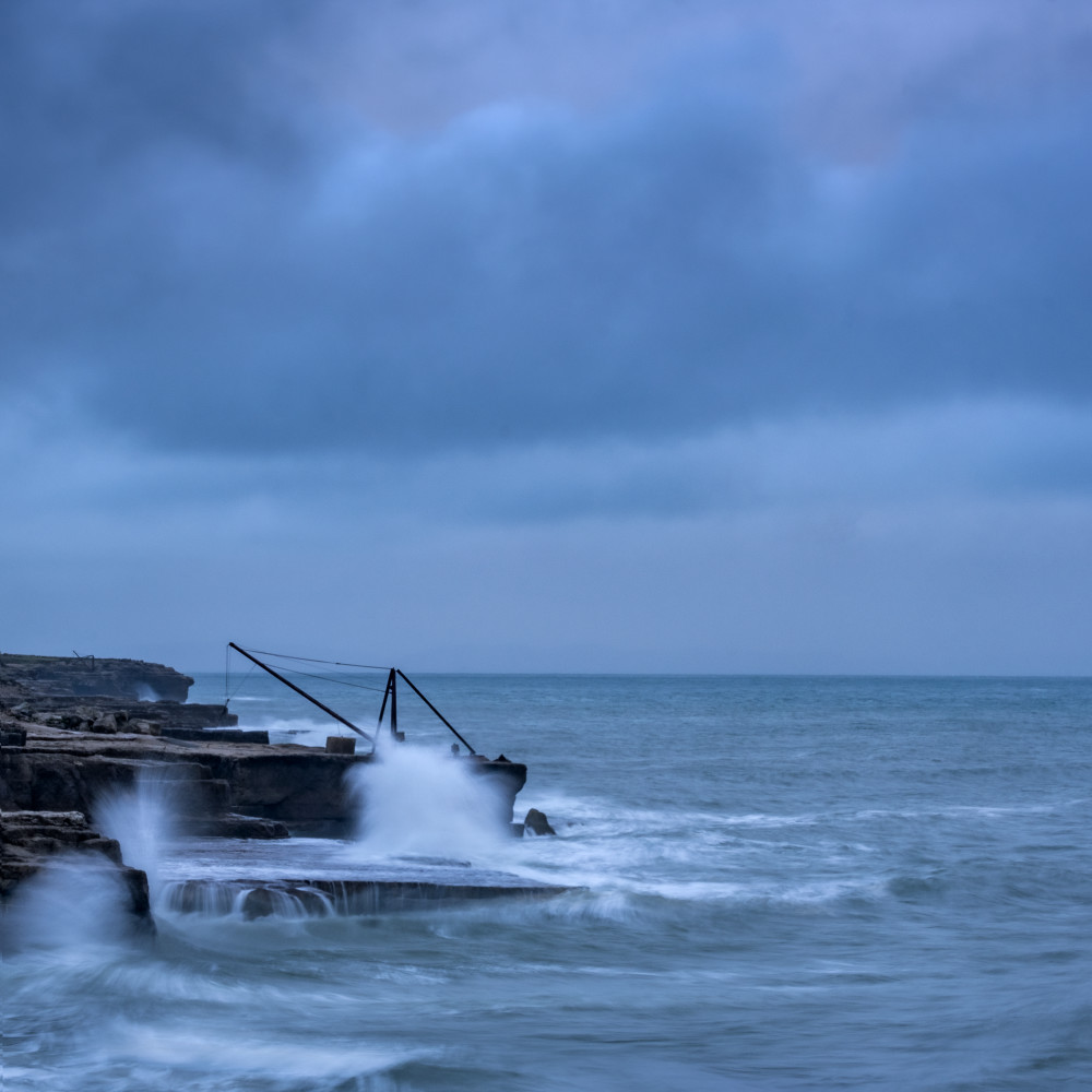 Portland Bill Crane Art | Roy Fraser Photographer