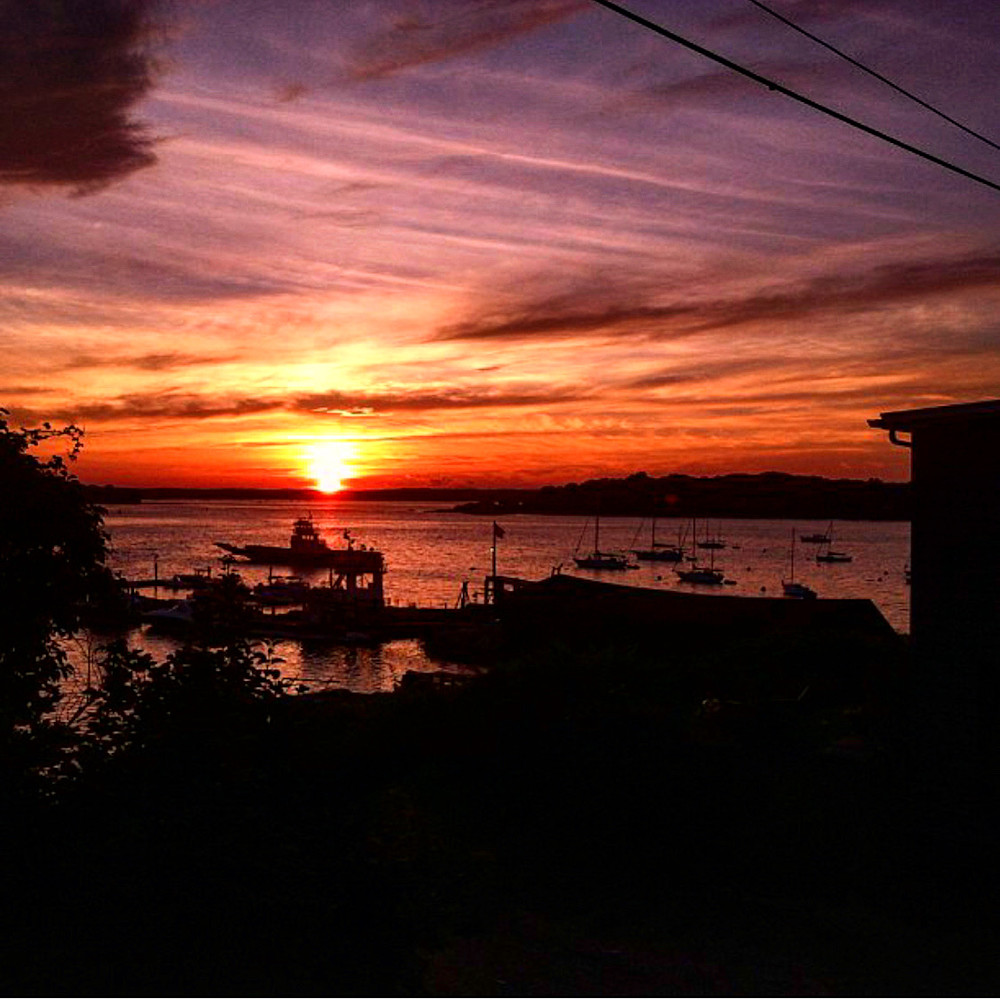 Casco Bay   Peaks Island, Me Photography Art | The Colors of Chatham