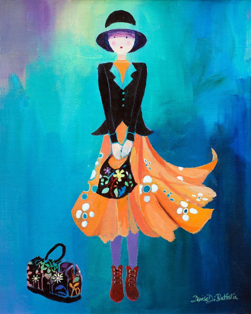 Quirky Female Art Print