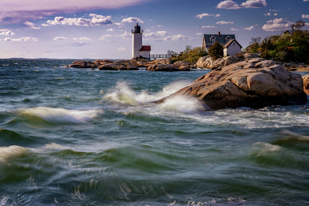 Spring Afternoon at Annisquam Lighthouse | Shop Photography by Rick Berk