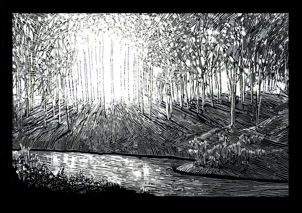 A Mind Awake  Art   Andre Junget Illustration LLC