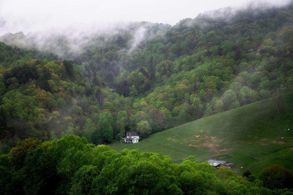 Valle Crucis farm - Smoky Mountains fine-art prints
