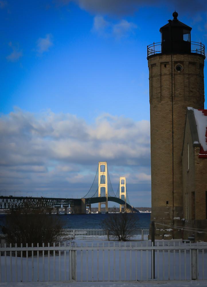 Mackinac Bridge Photography Art   Ursula Hoppe Photography