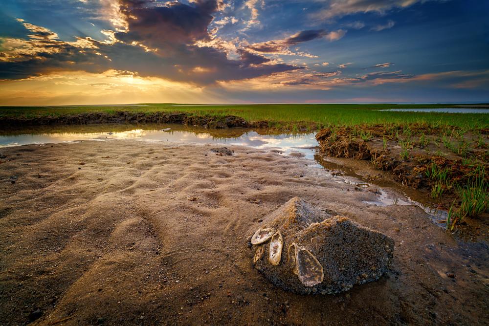 Sunset on Paine's Creek Beach   Shop Photography by Rick Berk