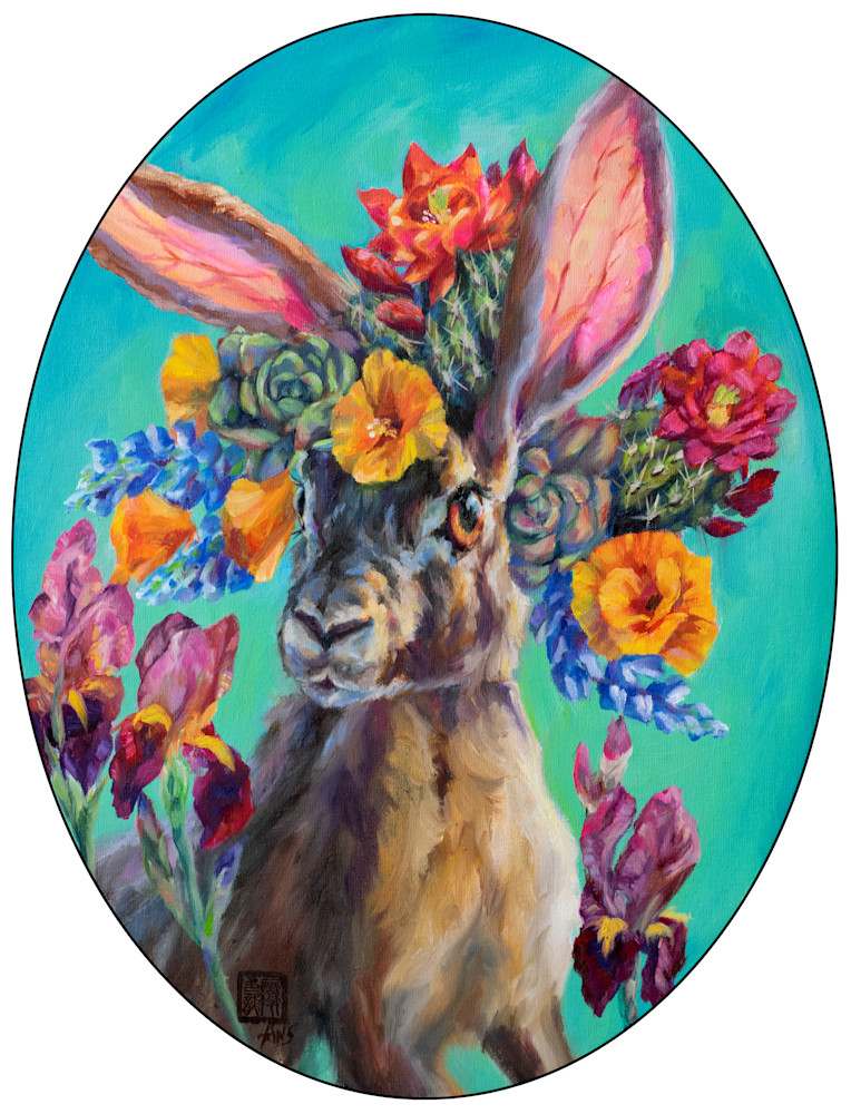 Cactus Critters: Jack In The Blooms Art   Ans Taylor Art