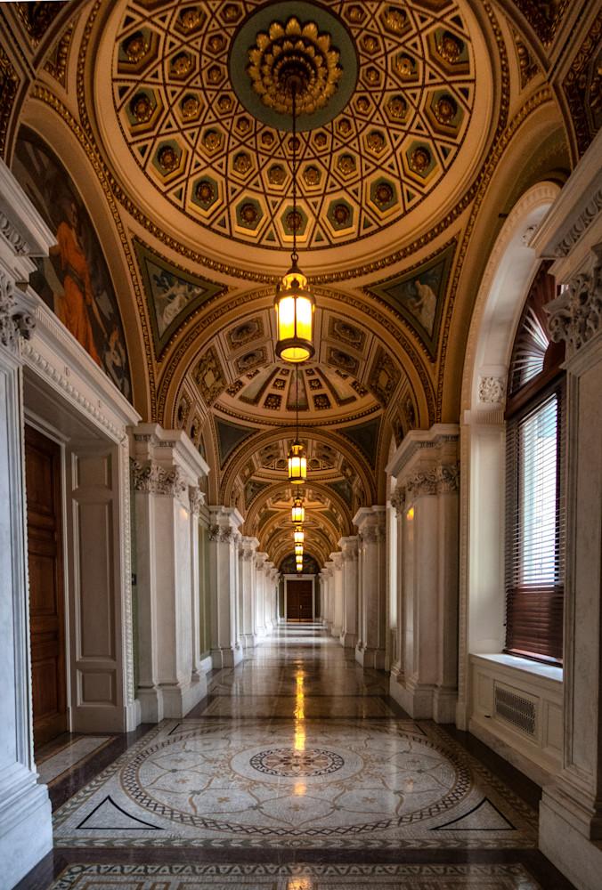 Library of Congress Hallway